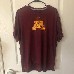 Minnesota State University Dri-Fit Nike Tshirt